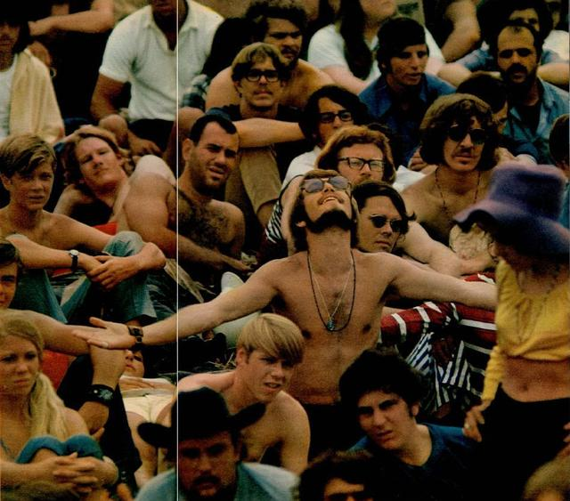 The Audience at Woodstock '69